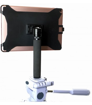 G8 Pro iPad mini 123 Tripod Mount Holder + 8 inch Tripod Adapter + 360° Locking Swivel Ball Head